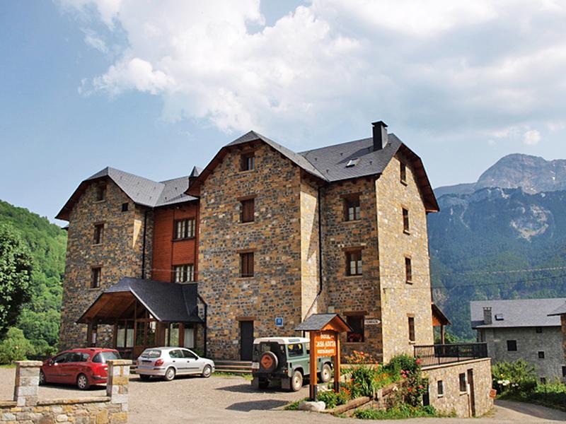 Hotel Casa Anita. Valle de Chistau.