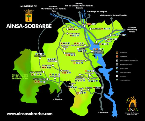 El municipio de Ainsa -Sobrarbe: Capital del turismo rural